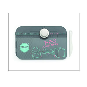 1-2-3 envelope punch board - la magnolia