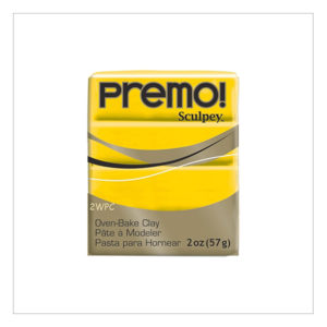 Premo-Sculpey-Polymer-Clay-Cadmium-Yellow-Hue-57g