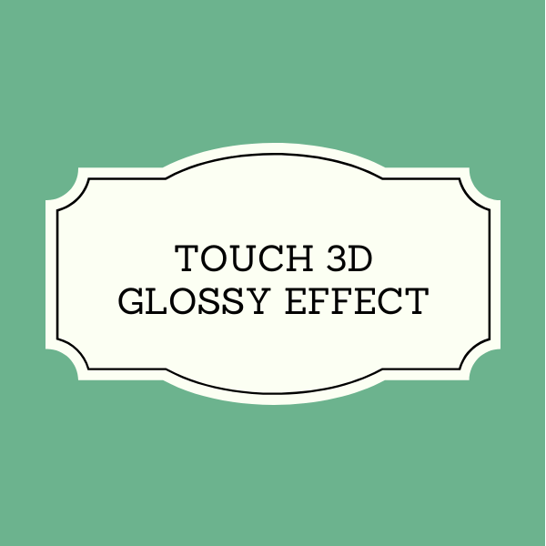 Touch 3D Glossy Effect