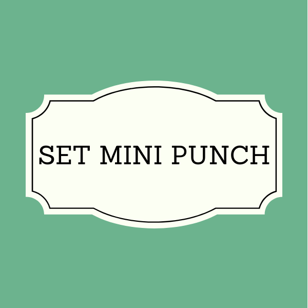 Set 4 Punch mini